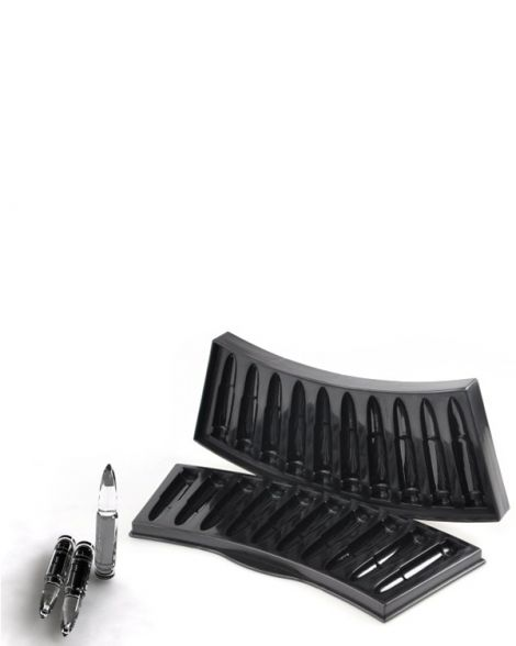 AK Bullet Shaped Ice Tray