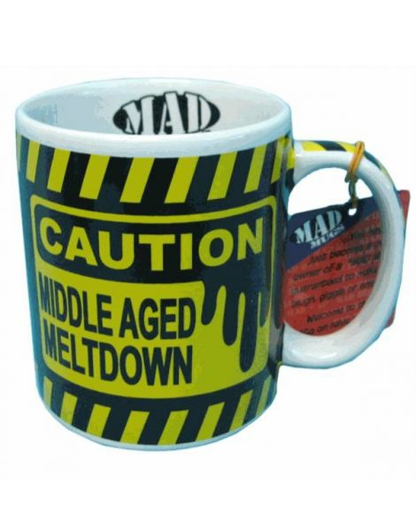 Middle Aged Meltdown Mug