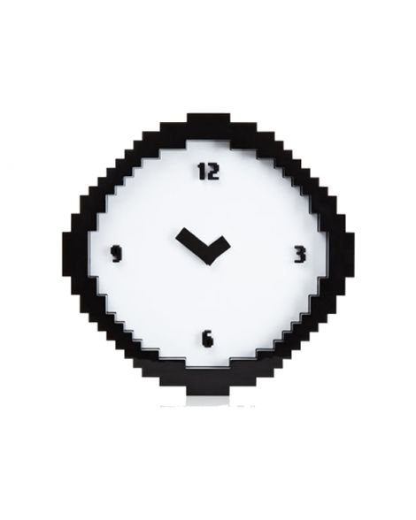 Pixel Clock Novelty Clocks And Household Gifts Now Laugh