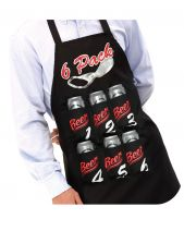 6 Pack Beer Apron