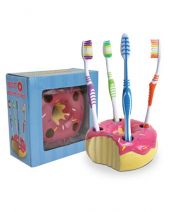 Doughnuts Toothbrush Holder