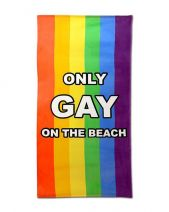 Only Gay On The Beach Towel
