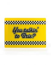 You Talkin' To Brie? Chopping Board