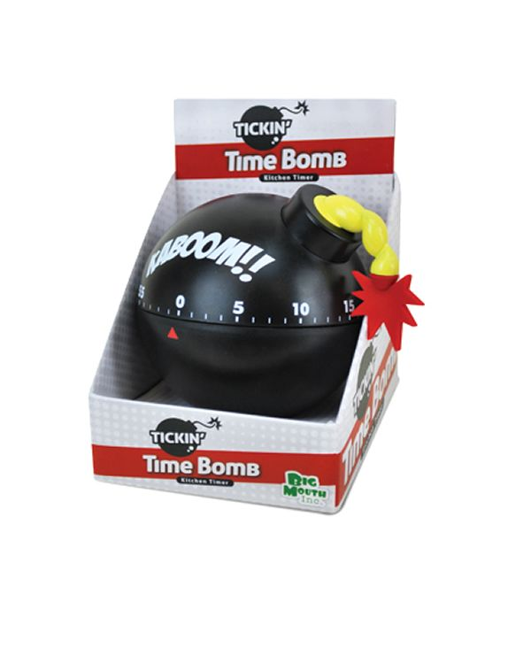 Tickin Time Bomb Kitchen Timer