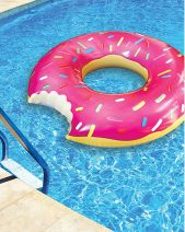 Giant Doughnut Pool Float