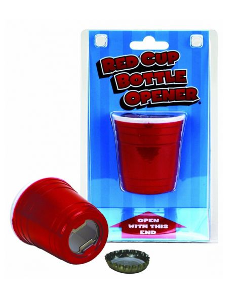 Red Cup Bottle Opener