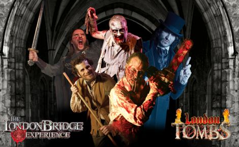 London Bridge Experience & London Tombs Gift Voucher For 2