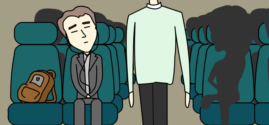 8 ways to ensure no one sits next to you on public transport my bag is more important than your life.png