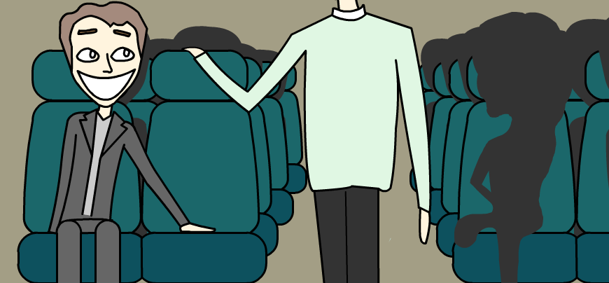 8 ways to ensure no one sits next to you on public transport the welcomer.png